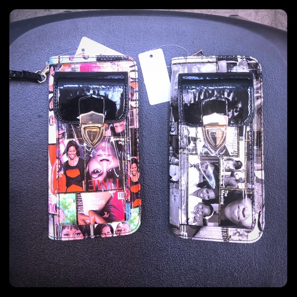 Handbags - New styles Michelle Obama cell phone wallets 💝🎁